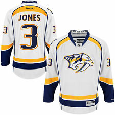Seth Jones Nashville Predators Reebok Away Premier Jersey - White - NHL