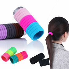 10pcsElastic Rope Ring Hairband Women Hair Band Ponytail Holder High Quality New