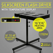 FLASH DRYER SILKSCREEN T SHIRT SCREEN PRINTING SILK SCREEN ADJUSTABLE STAND