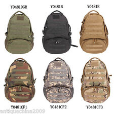 Military Rucksack Outdoor Tactical Backpack Travel Camping Hiking Sports Bag