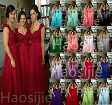 Sexy Handwork Chiffon Formal Prom/Bridesmaid Cocktail Party Evening Dress New