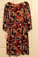 "Jude Connally Dress - ""Red Kaleidoscope"" - Size M - NWT"