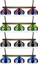 Choose NFL Team 3 Shade Tiffany Style Stained Glass Pool Billiard Light Lamp