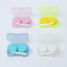 Plastic Portable Mini Contact Lens Case Storage Box Container Travel Holder Set