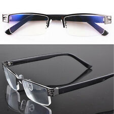 1.0 to 4.0 Hot New Reading glasses coating metal half-frame reading glasses