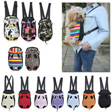 Nylon Dog Cat Pet Puppy Dog Carrier Backpack Front Tote Carrier Net Bag 4Sizes