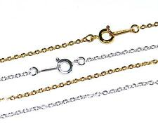 10, 50 or 100 SILVER / GOLD PLATED TRACE JEWELLERY CRAFT WHOLESALE CHAINS - UK