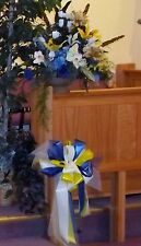 Custom Large Table Top Church Alter Arrangement Mixed Flowers~Fillers~Colors