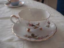 VINTAGE UCAGCO CHINA TEA CUP AND SAUCER FOOTED NICE SET BUY IT NOW PRICE!@@@