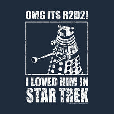 New T-shirt Men's OMG Loved Him Science Fiction Series OffWorld Designs
