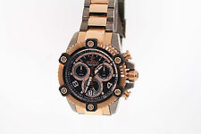 Men's Invicta 12987 Stainless Steel Reserve Chronograph Black Dial Watch