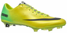 New $225 Nike Mercurial Vapor IX FG Mens Soccer Cleats - Yellow & Green