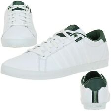 K-Swiss ALL COURT TENNIS Men's Leather Shoes Trainers white 03204178