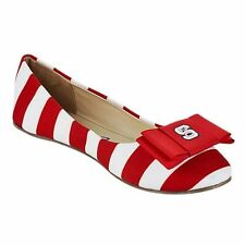 NC State Wolfpack LillyBee U Womens Removable Bow Flats - College