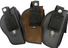 Made in America Belt & Clip-on Holster with Pouch for Extra Magazine...