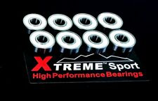 608 RS ABEC-11 XTREME HIGH PERFORMANCE BEARINGS SKATEBOARD SCOOTER LONGBOARD*