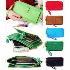 New Women Purse Long Zip Wallet Mobile Bag Card Holder Handbags Fashion Gift