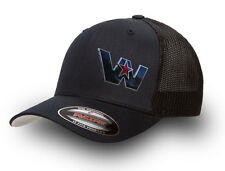 WESTERN STAR FLEXFIT TRUCKER CAP BLACK  WESTERN STAR TRUCKER MESH CAP FLEXFIT