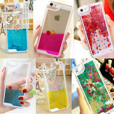 Dynamic Liquid Glitter Star Dolphin Fish Hard Case Cover For Apple iPhone 5C