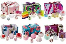 NEW LOVELY BOMB COSMETICS BATH BOMB SOAPS WRAPPED GIFT SETS WITH FREE POST