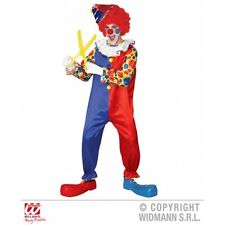 Mens Clown Costume Outfit for Circus Fancy Dress