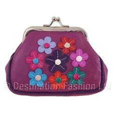 NEW Mala Leather Alice Clip Top Coin Purse Ladies Soft Quality Clasp Money Pouch