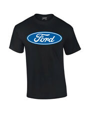 Ford T-Shirt Blue Ford Logo Oval Design
