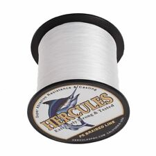 White 4S&8S Strands 100M 300M 500M 1000M Braided Spectra PE Dyneema Fishing Line