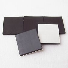 """1"""" Inch Square Rubber Magnets w/ Peel&Stick Adhesive ONLY -Crafts Fridge Magnets"""