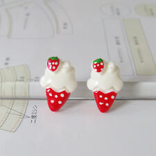 Harajuku Kawaii Lolita Kitsch Ice Cream Stud Earrings