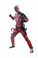 Movie Deadpool Costume Suit Adult Men's Halloween Carnival Cosplay Costume S-3XL