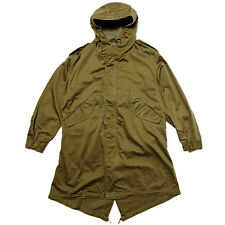 BUZZ RICKSONS M-51 FISHTAIL PARKA OLIVE DRAP