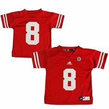 No. 8 Nebraska Cornhuskers adidas Toddler Replica Football Jersey - Scarlet