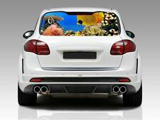 TROPICAL FISH Car Rear Window Graphic Decal Sticker Truck SUV Van Coral Reef 074