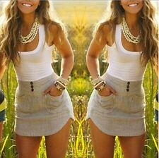 Sexy Women Ladies Holiday Casual Boho Beach Dress Cocktail Evening Party Dress