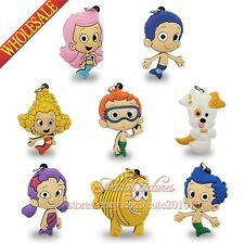 4PCS Bubble Guppies Pendants Charms for Keychains & necklace & Bracelets,Gifts