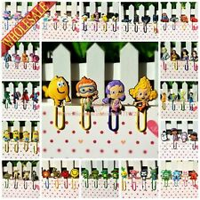 4pcs/set Hot cartoon Paper Clips Bookmarks School Office Supplies Stationery