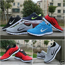 VENBU RUNNING TRAINERS MEN'S WALKING SHOCK ABSORBING SPORTS FASHION SHOES SIZE