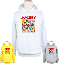 Cute Disney Mickey Mouse happy arms akimbo Sweatshirt Hoodie Tops For Boy Girl
