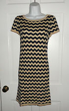 NWT LILLY PULITZER TRUE NAVY DAZZLE STRIPE SANTANA SWEATER DRESS L XL
