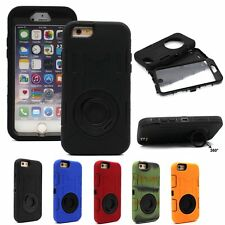For iPhone 6 4.7 Inch Shock Dust-Proof Heavy Duty+Screen Cover Stand Case Cover