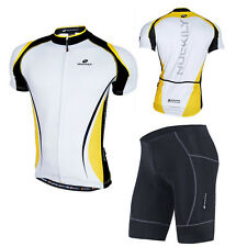 Bike Cycling Bicycle Jersey Top Wear Mens Outdoor Team Short Sleeve Sport Shorts