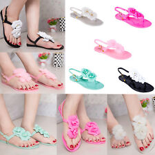 Women Flat Shoes Summer Ladies Beach Casual Sandals Thong Slippers Flip Flop New