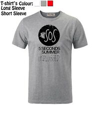 Unisex Mens Womens 5 Seconds Of Summer Unplugged 5 SOS Top Quality T-Shirt Tee