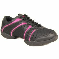 dance sneakers black and pink  capezio ds30 adult bolt fitness dance jazz