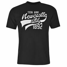NUFC Mens United Graphic T Shirt Short Sleeve Tee Top Crew Neck Cotton