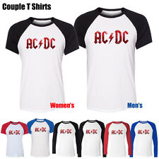 ACDC Malcolm Angus Young  Music Hard Rock Band Boy's Girl's Couple T Shirt Tops