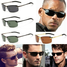Mens Driving Polarized Lens Fashion Outdoor Sports Sunglasses Eyewear Glasses