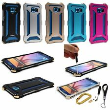 KANENG Transformers Aluminum Metal Frame Case Cover for Samsung GALAXY S6