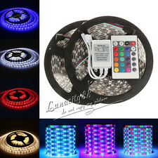 3528 SMD Stripe 5M 300 LED Strip Light RGB Ribbon Tape Roll IP20 IP65 For Xmas